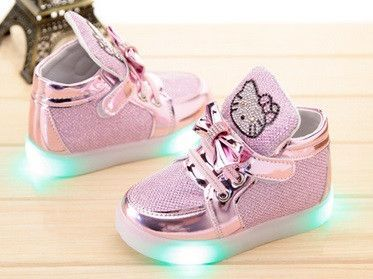 4d261f2d7 Children's Hello Kitty Light Up Shoes | PiiNK | Hello kitty baby ...