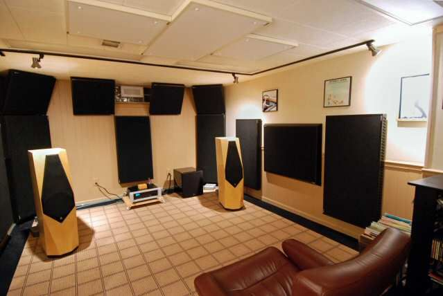 Real Traps Home Theater Design Home Sound Room