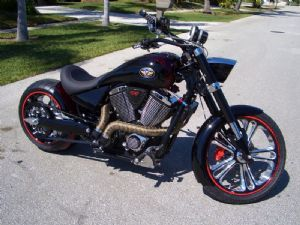 Victory Motorcycle Parts >> Conquest Customs Demon Victory Motorcycles Heavy Horses