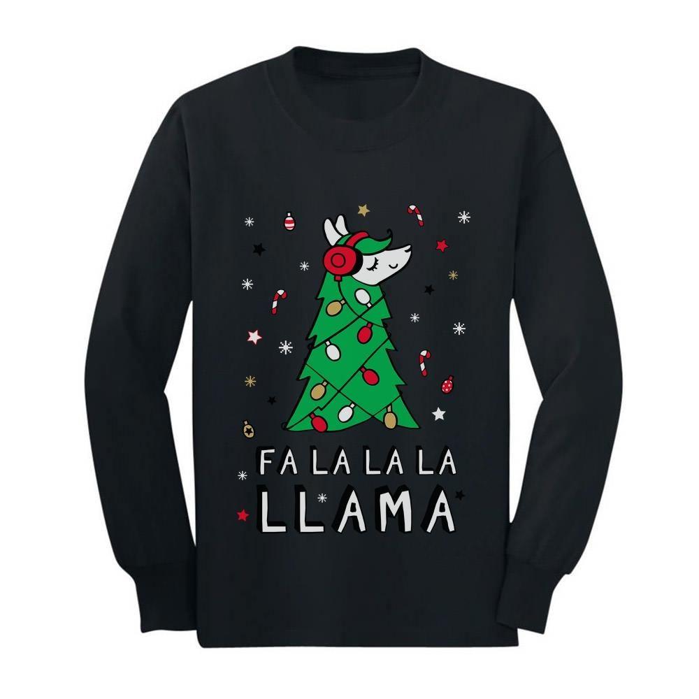 Christmas Funny FA-La-La Llama Sweatshirt