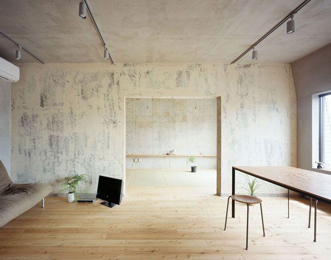 Setagaya flat is een minimalistisch appartement gevestigd in tokio