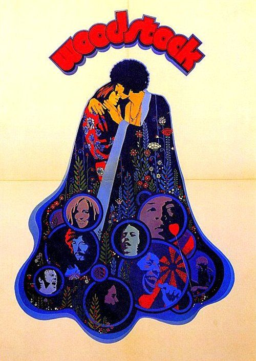 60s poster for Woodstock(the film)
