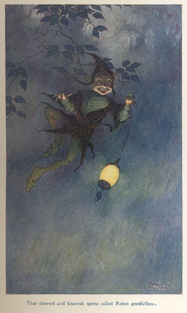 Robin Goodfellow (1910) by Charles Folkard