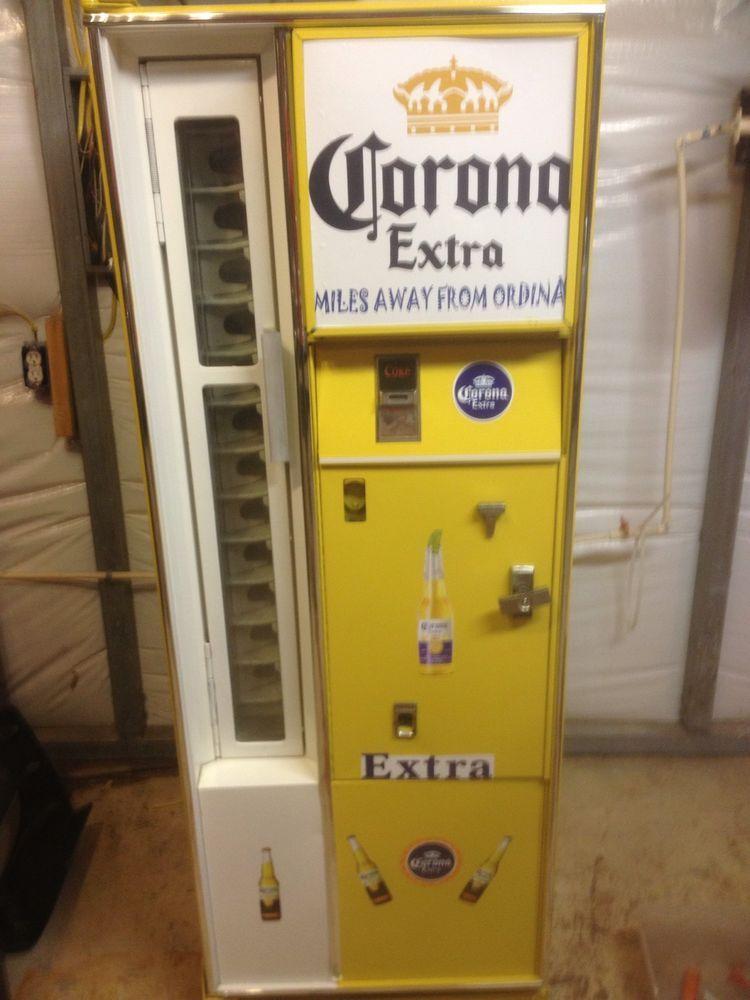 Man Cave Vending Machine : Vintage cavalier vendo coke beer man cave vending machine