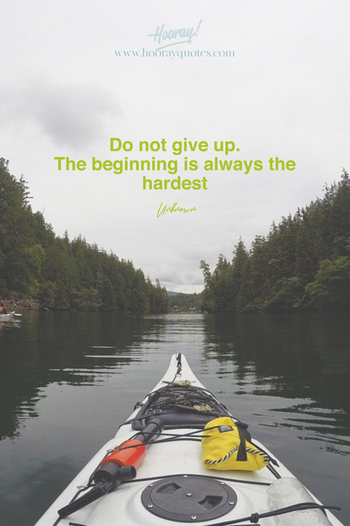 Do Not Give Up The Beginning Is Always The Hardest It S Meant To