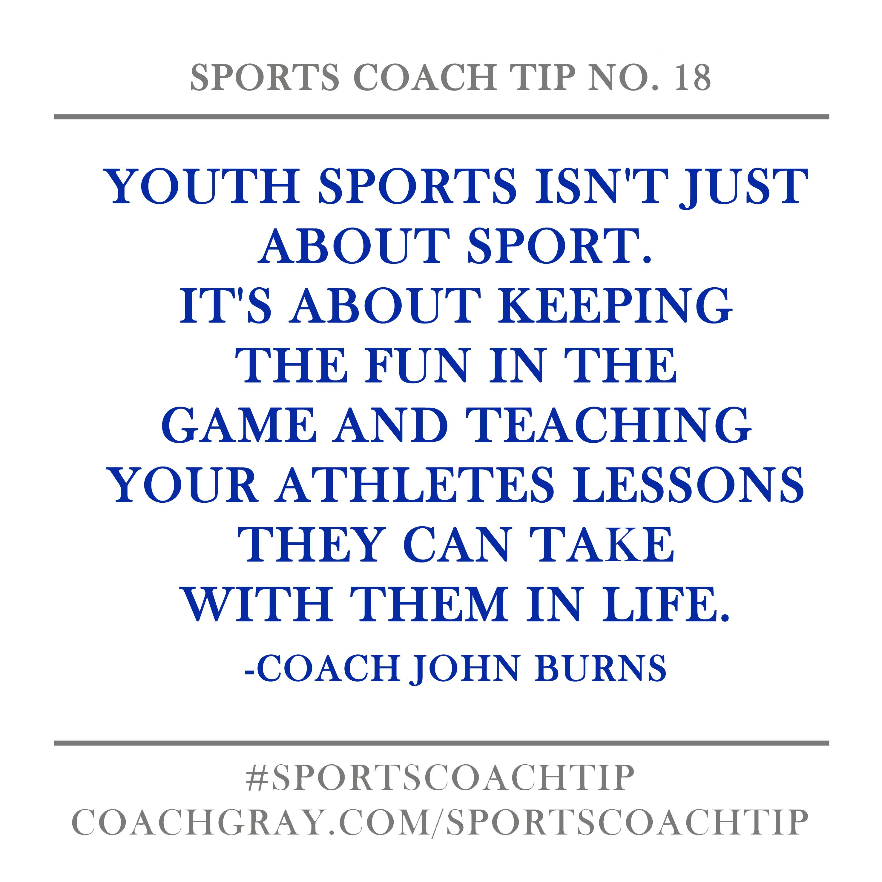 Sports Coach Tip No. 18 (With images) | Best sports quotes, Sports ...