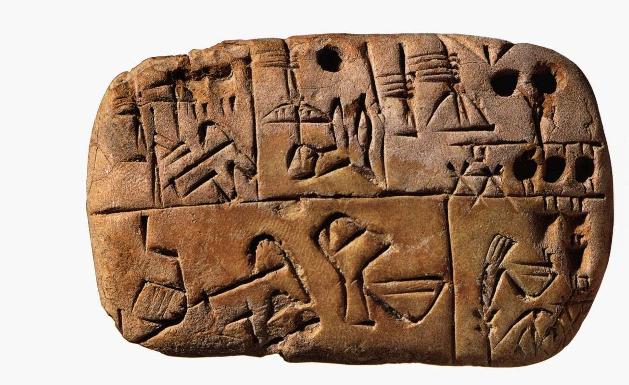 глиняные таблички рисунок всей