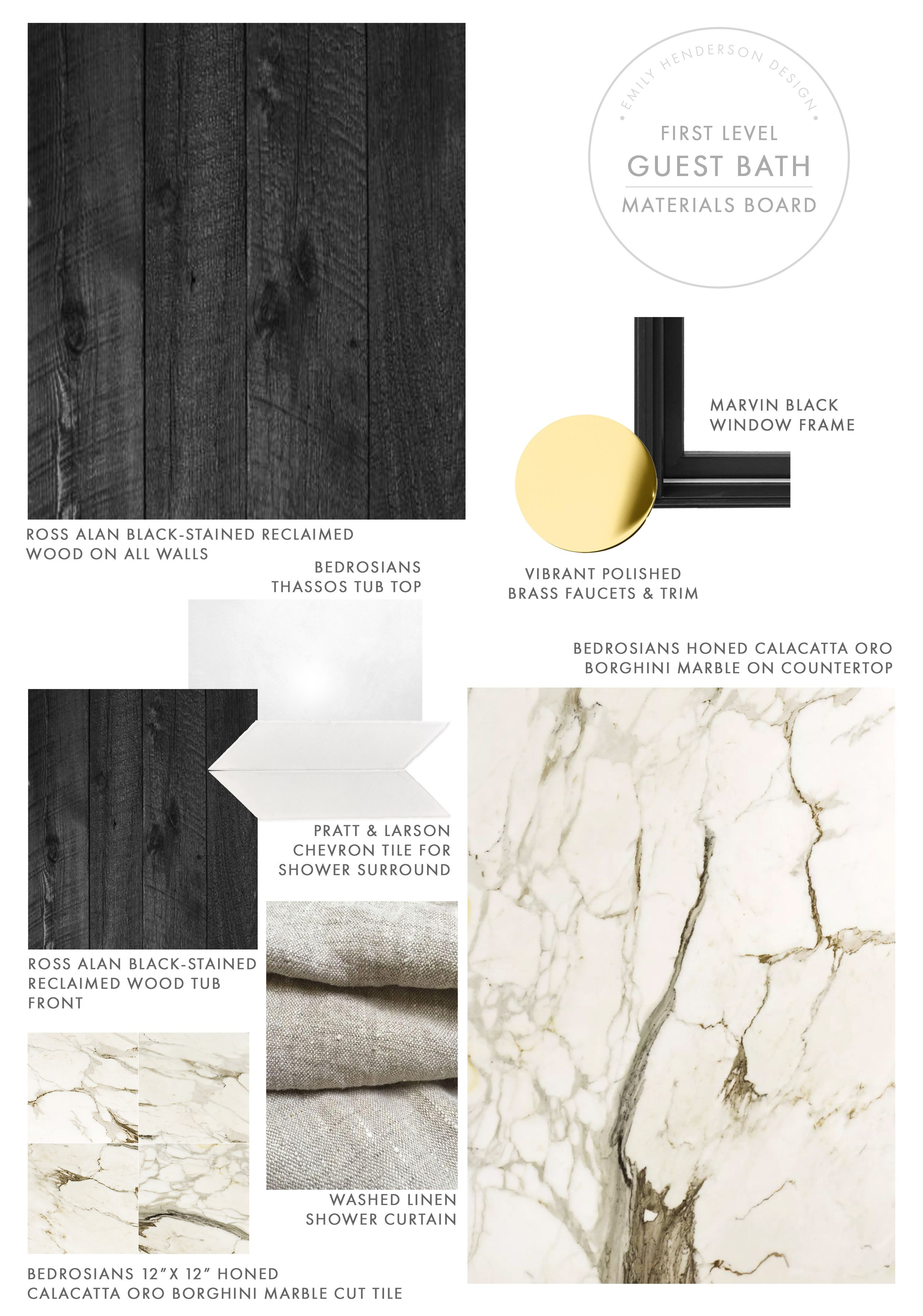 Dramatic Bathroom Remodel Ideas How We Designed The First Level Guest Bath Bathrooms Remodel Remodeling Hacks Guest Bath