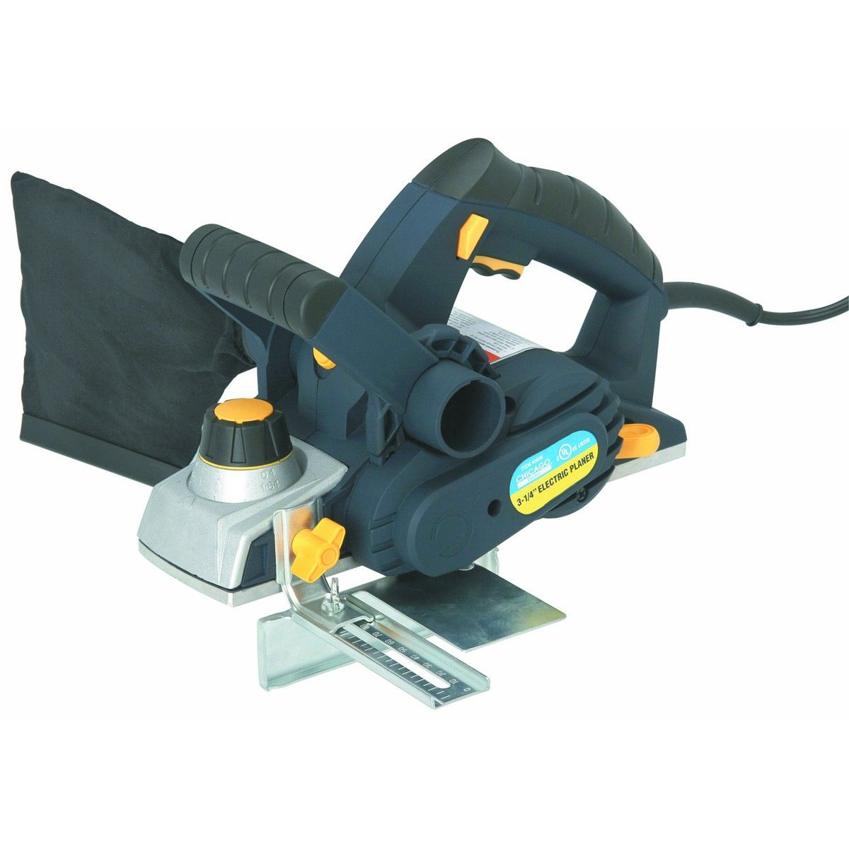 3 1 4 In 7 5 Amp Heavy Duty Electric Planer With Dust Bag Electric Planer Woodworking Projects That Sell Power Tools For Sale