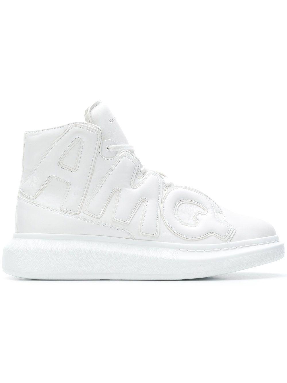 c11e1683c88 Alexander McQueen High top oversized sneakers | Shoes | Sneakers ...