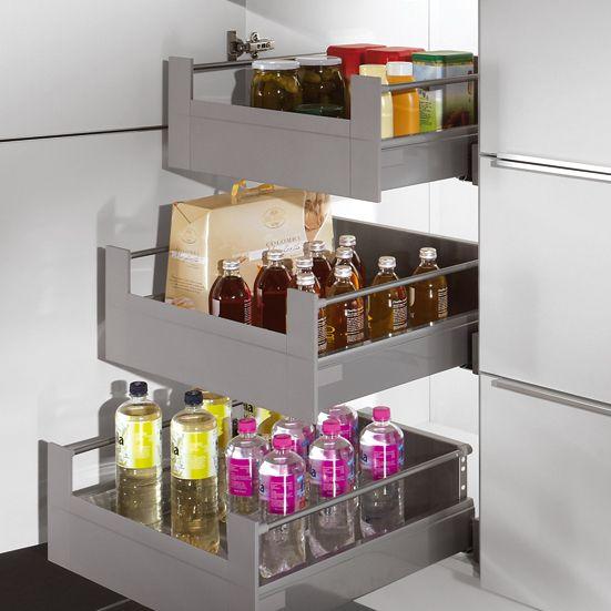 Top Meuble pour stockage de provisions à coulissants intérieurs  XR71