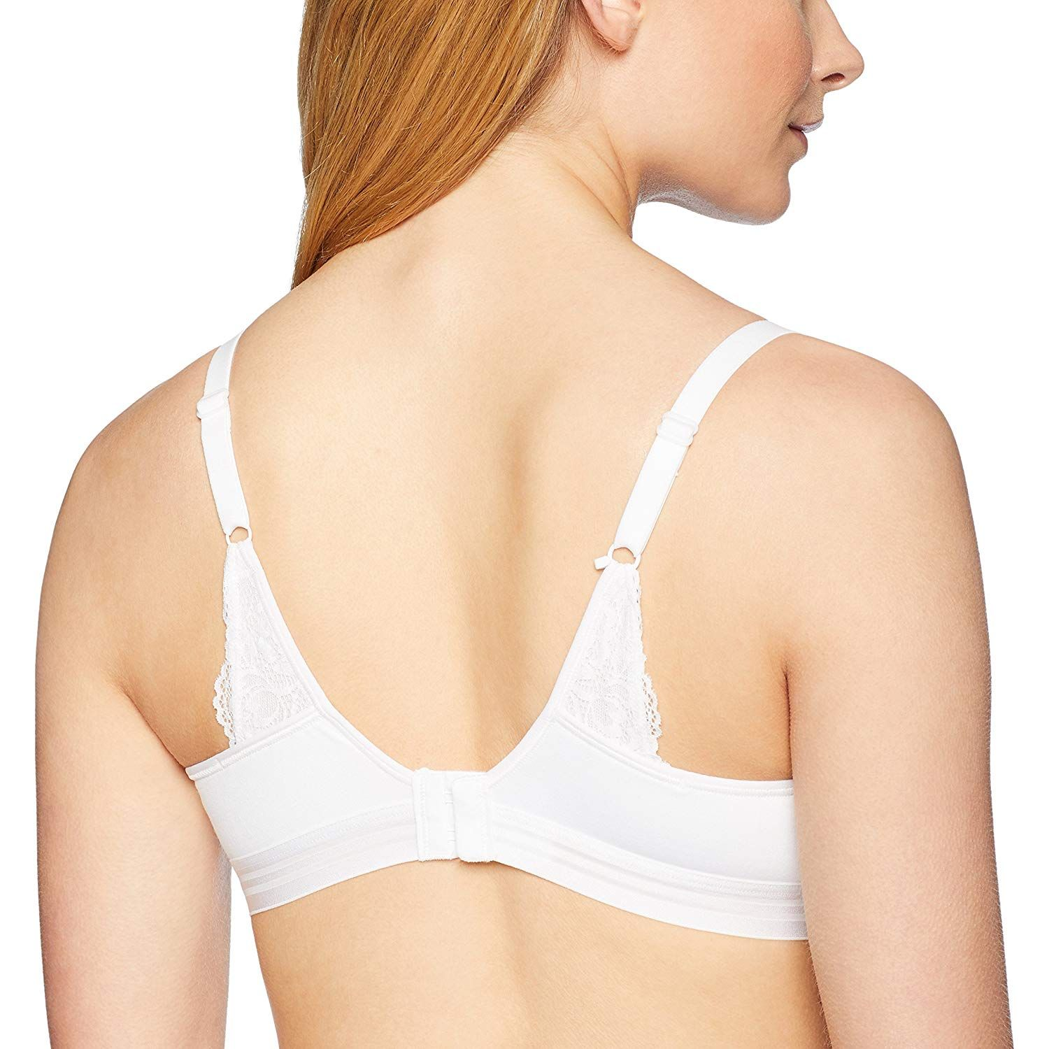 f550ecb28b46e Hanes Women s ComfortFlex Fit T-Shirt Soft Foam Wirefree Bra at Amazon  Women s Clothing store