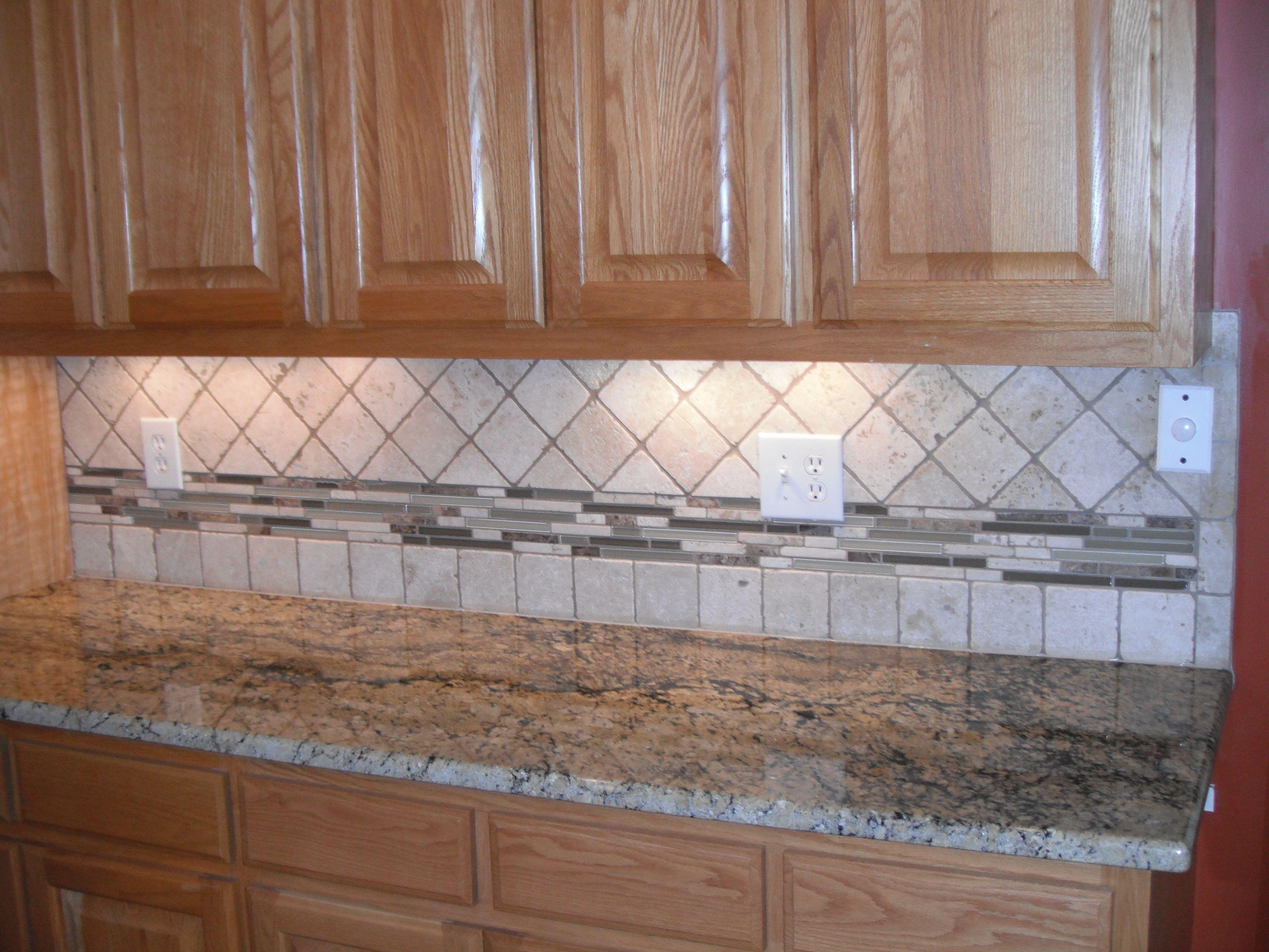 Backsplashes For Granite Countertops  Tile Backsplash  Granite Countertops Charlotte NC  For