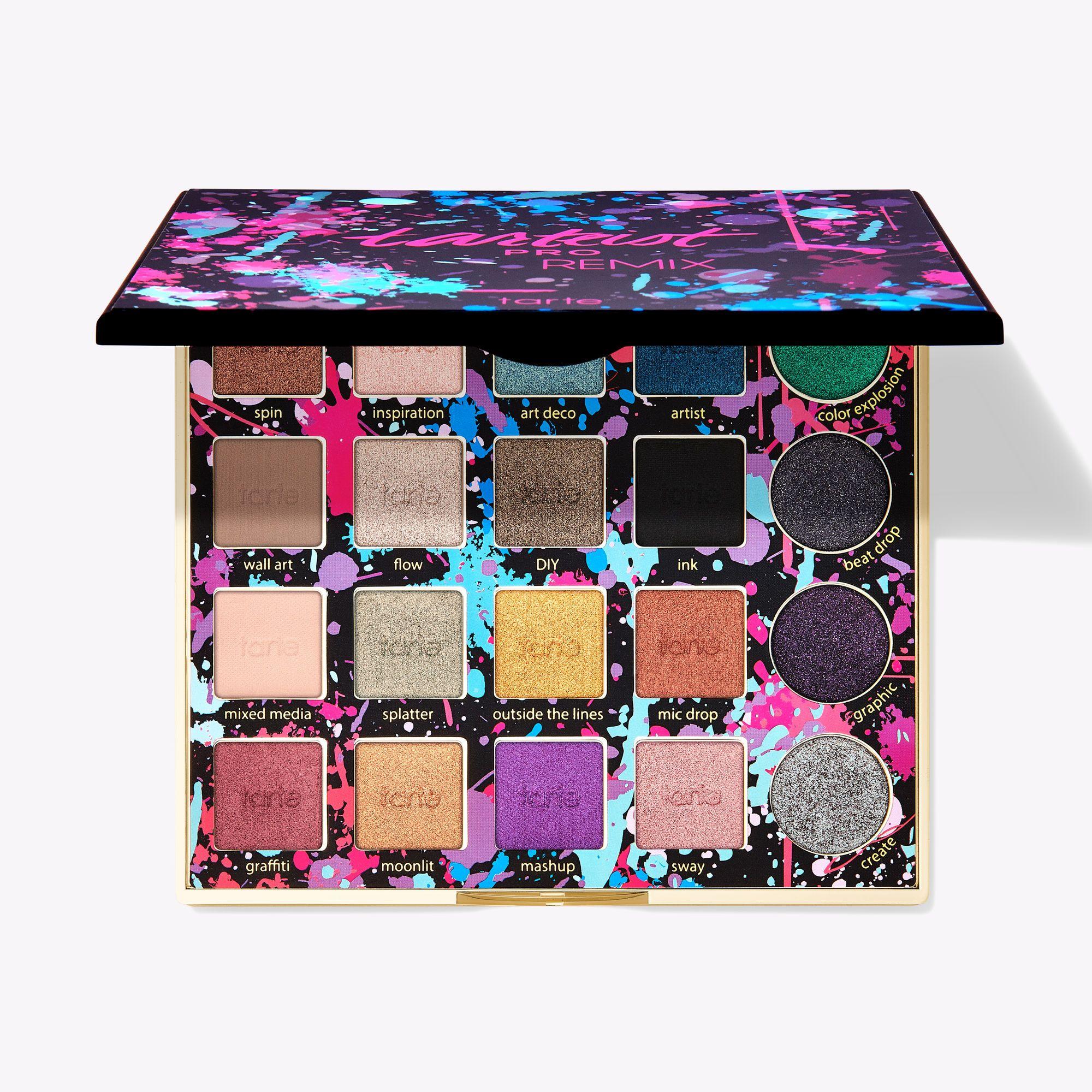 makeup pallets, PRO REMIX Amazonian clay palette, makeup