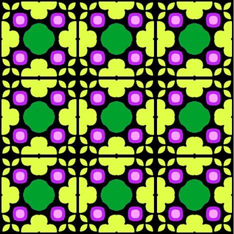 ArtbyJean - Tea Bag Tiles: Bright colors on blocks of nine Tea Bag ...