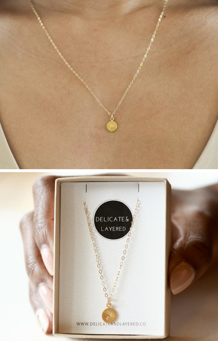 Cute Necklace For Girlfriend Simple Cute Necklaces For Girlfriend Necklace For Girlfriend Dandelion Necklace