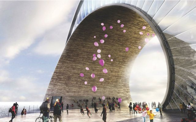 21 Jaw Dropping Architectural Renderings By Bjarke Ingels Group Big 21 The Wave  St  Petersb