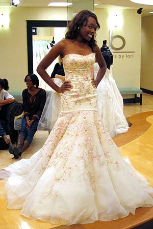 The Pink Dress From Say Yes To The Dress 2nd Wedding Dresses Wedding Dress Pictures Dream Wedding Dresses