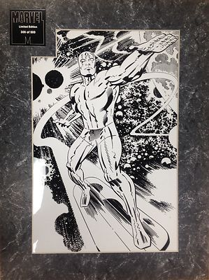 Jack Kirby Silver Surfer Comics Limited Edition Laser Cel Marvel Disney Artwork