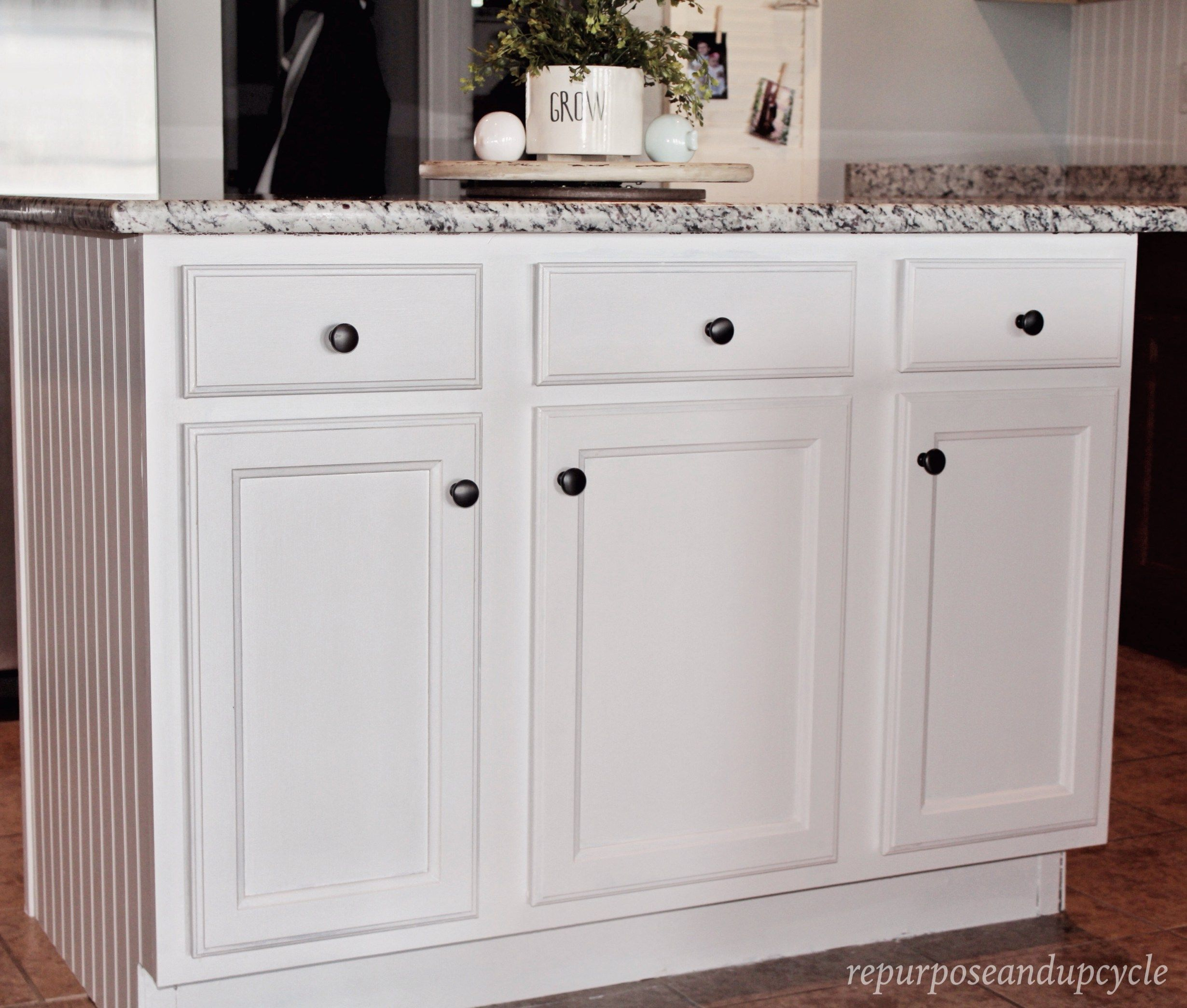 How To Paint Bathroom Laminate Cabinets: Painting Laminate Cabinets With No Prep Work