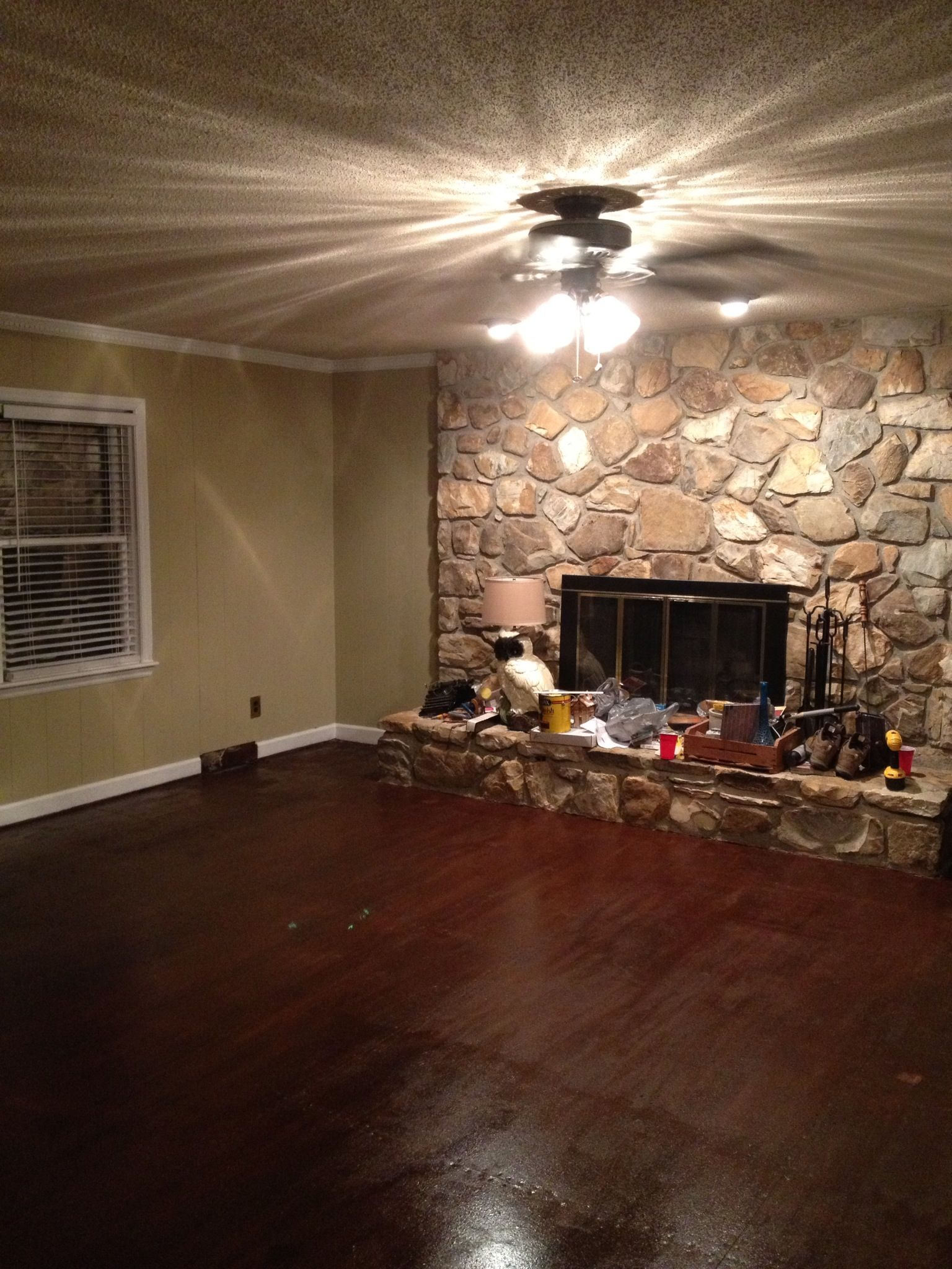 particle board floor how did they make this look so. Black Bedroom Furniture Sets. Home Design Ideas