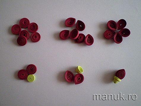 Quilled flowers tutorial tutoriales pinterest flower tutorial quilled flowers tutorial mightylinksfo