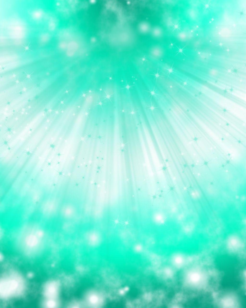 Green Desktop Wallpaper: Sea Green Sparkles Background By YuniNaoki.deviantart.com
