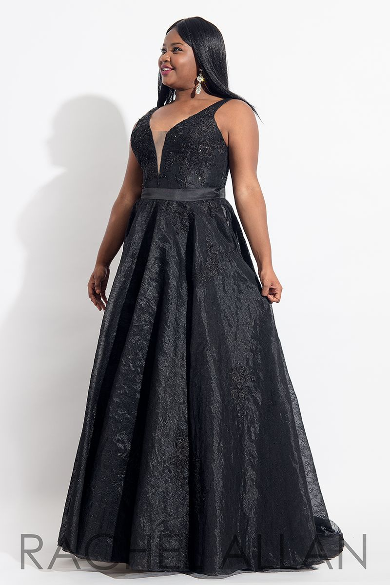 61628d432cd Style 6320 in Black Plus Size Gowns