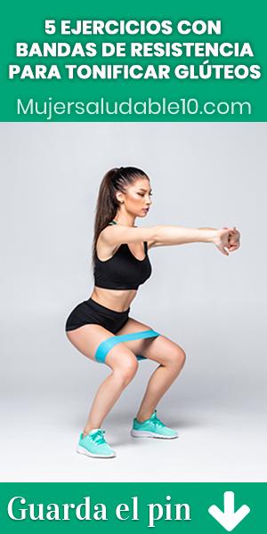 5 ejercicios con bandas elásticas para tonificar glúteos