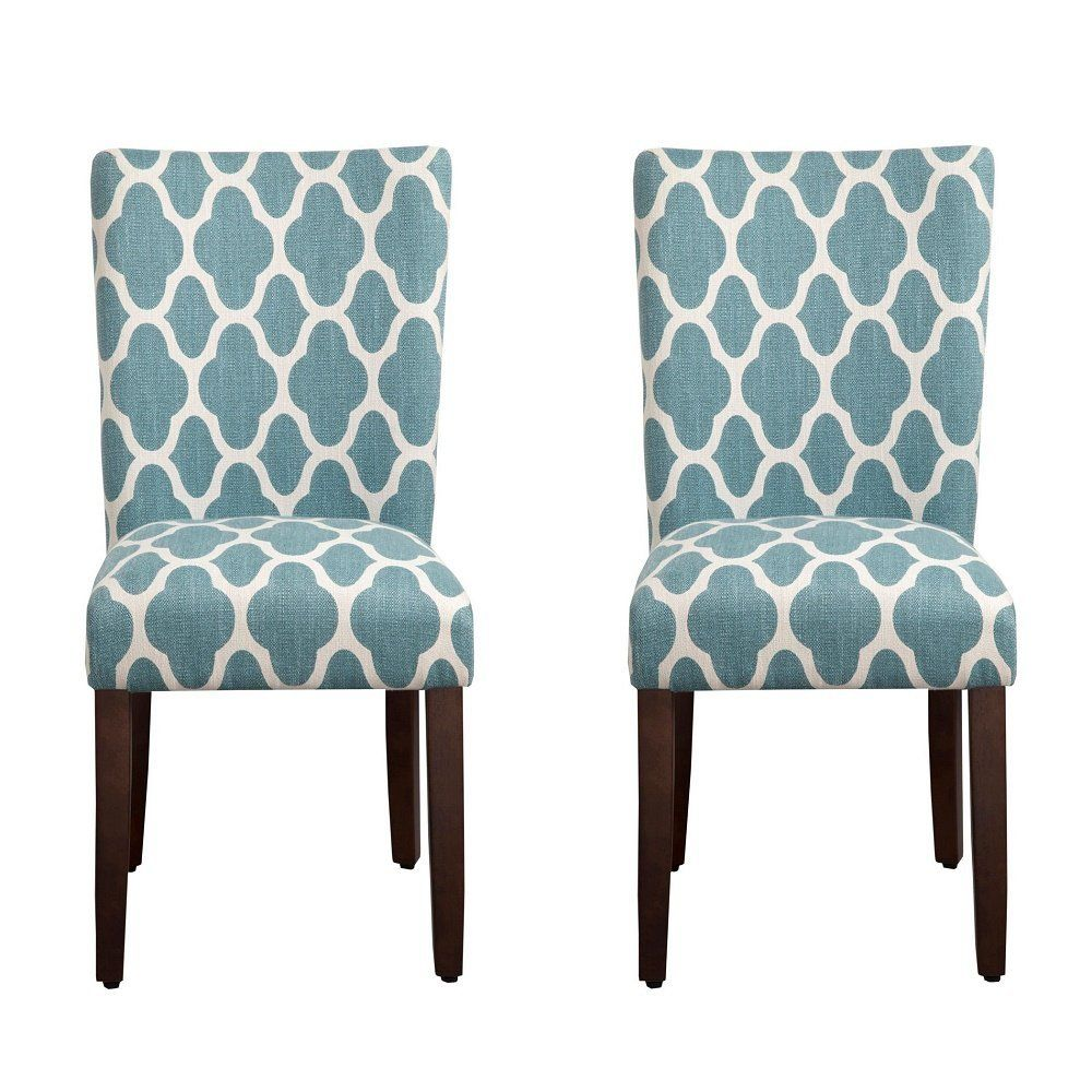 Marvelous Amazon.com   HomePop Geo Brights Parson Chairs (Set Of 2)   Chairs