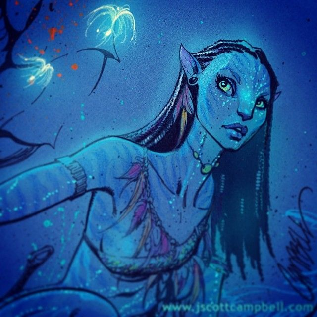 Avatar Movie: Pin By Christine Miska On ART: DRAWINGS