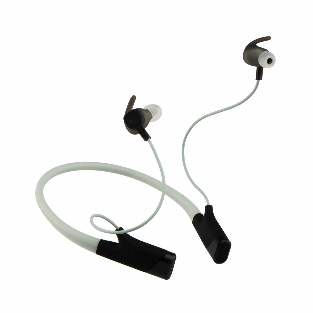 Jabra Sport Pace Wireless Earbud Headphones Blue 100 97700002 02 Best Buy Earbud Headphones Earbuds Wireless Earbuds
