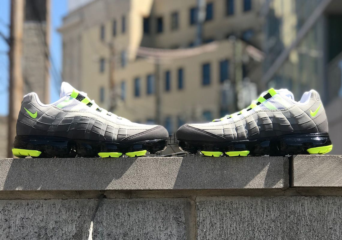 30b18698fea5 The Nike Vapormax 95 Neon Is Releasing On August 16th