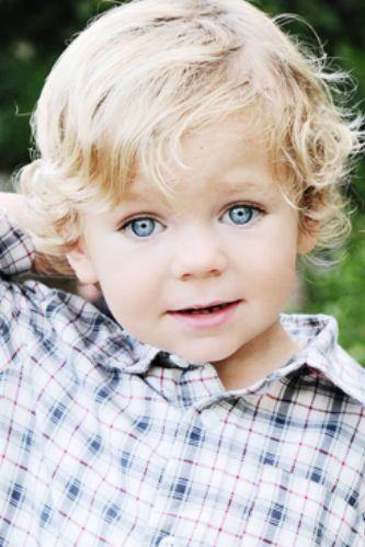 Cute Blue Eyed Baby Boy Little Boy Haircuts Blonde Babies Baby Curls