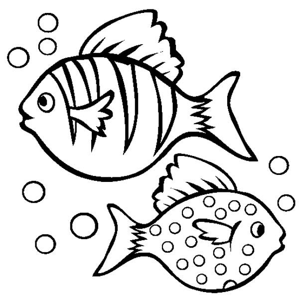12 pics of fish bubbles coloring pages cartoon fish coloring