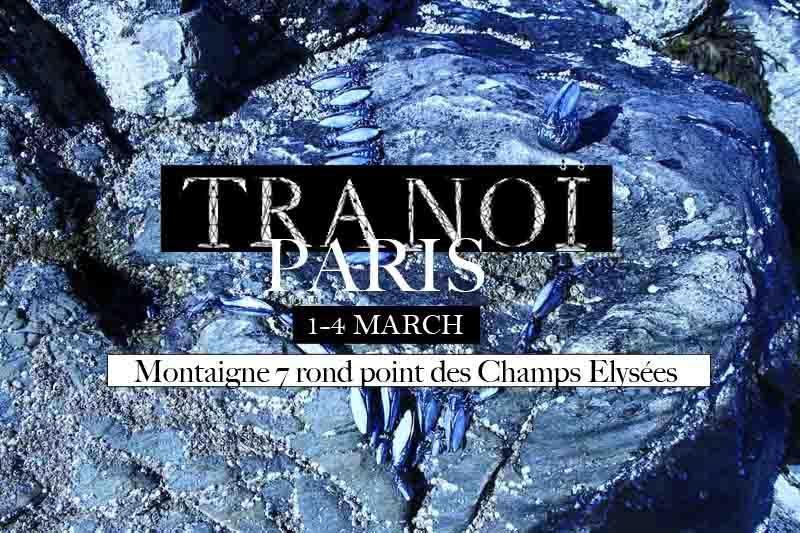 1-4 march 2013, VERNISSAGE @ TRANOI   Montaigne 7 rond point des Champs Elysées - PARIS