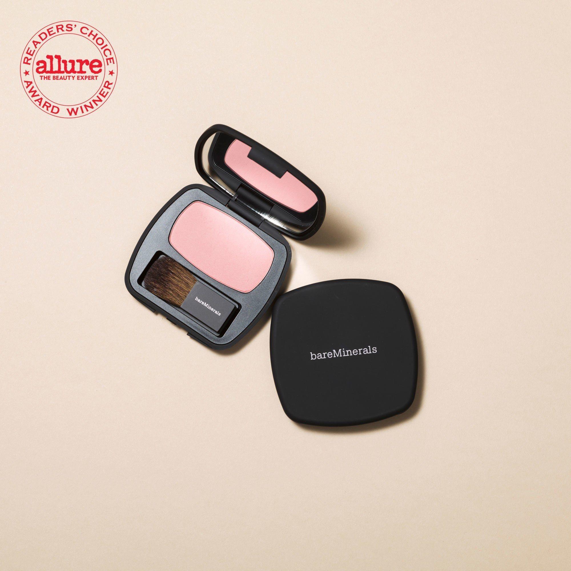 Luxury Bareminerals Ready Blush Swatch