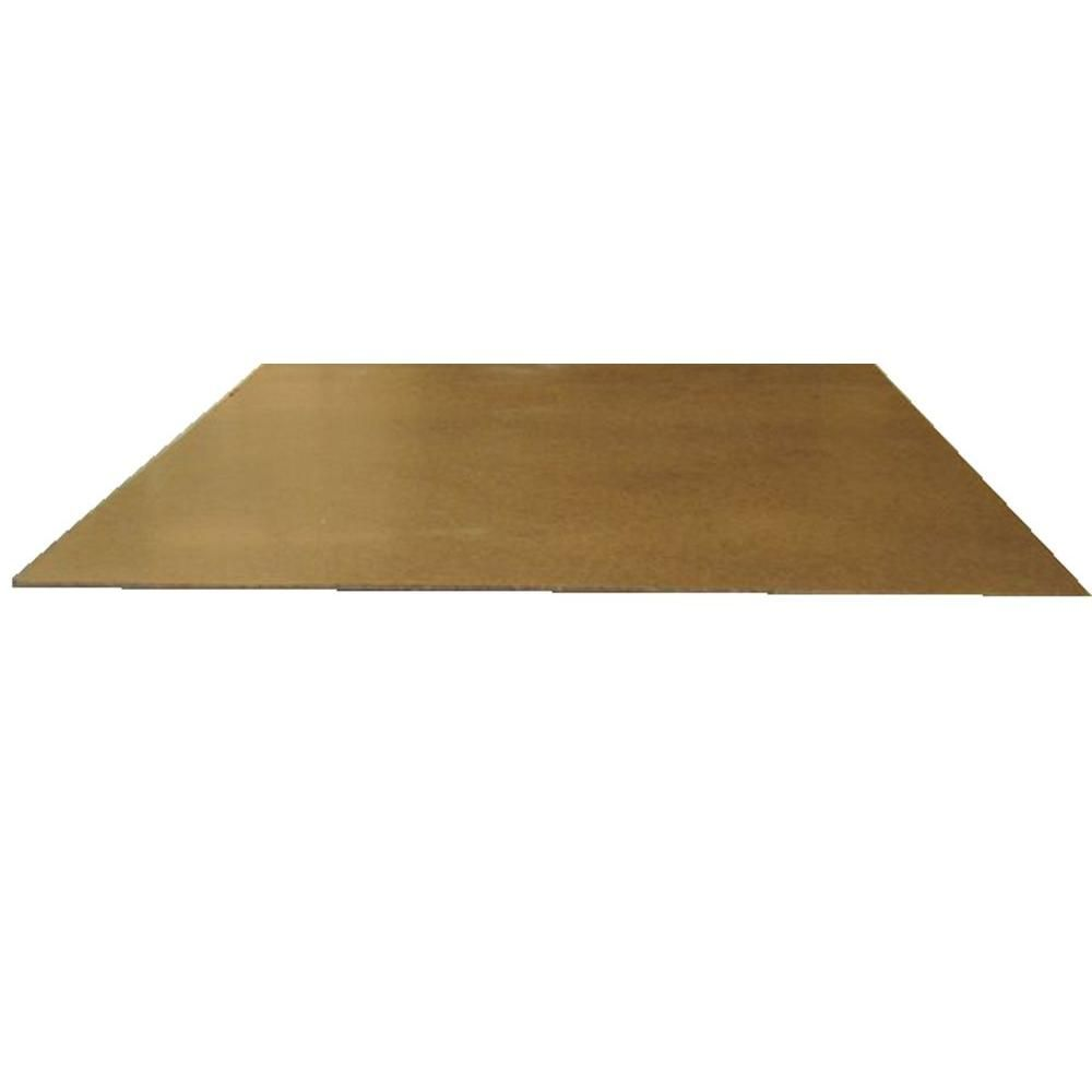null Hardboard Tempered (Common: 1/8 in. x 2 ft. x 4 ft.; Actual ...