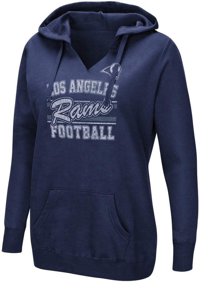 c385ee2ad71a Majestic Women s Los Angeles Rams Quick Out Hoodie. Majestic Women s Los  Angeles Rams Quick Out Hoodie Tennessee Titans Football ...