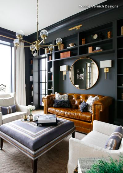 How Much Does It Cost To Hire An Interior Designer Living Room Design Modern Contemporary Living Room Design Black Living Room