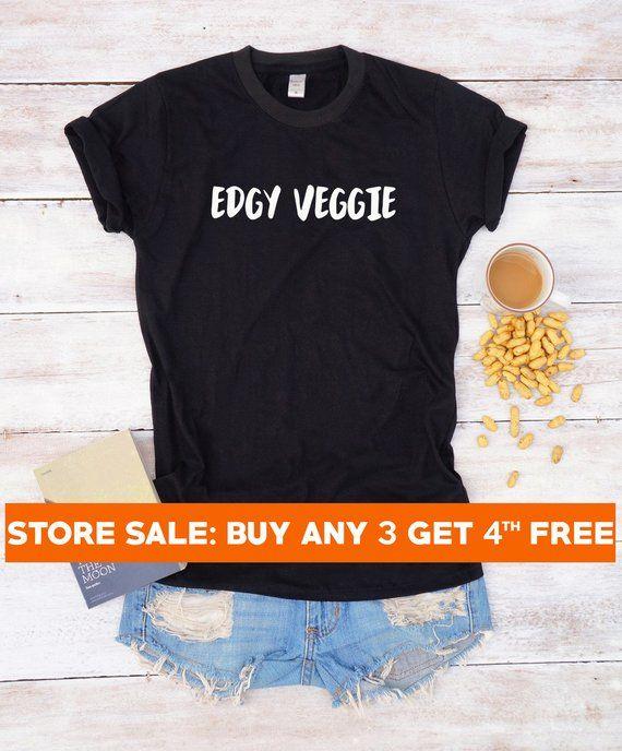 0284e4b8 Edgy veggie shirt vegan tshirt slogan shirt funny graphic tshirt ladies  shirt cool tshirt tumblr out