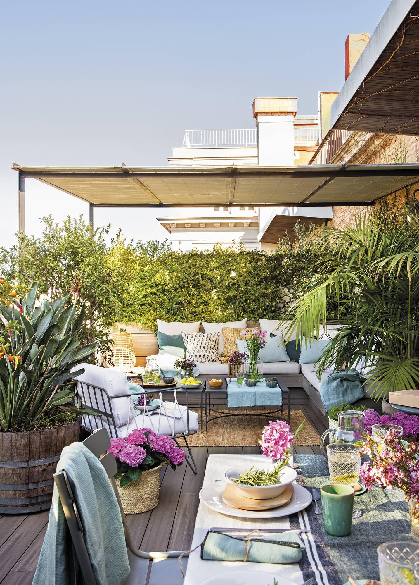 Resumen Del Numero De Junio De La Revista El Mueble En 2020 Diseno De Terraza Balcon Decoracion Decoracion De Cocina Colorida