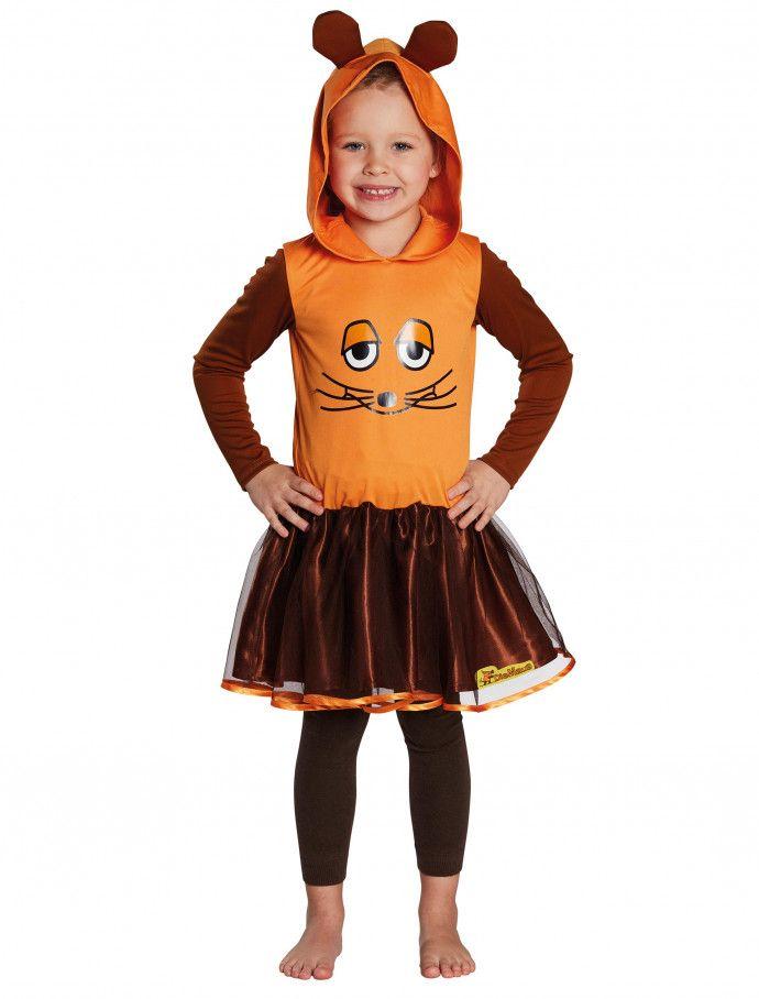 Die Maus Kleid Kinder Deiters Mädchen Kostüm Karneval
