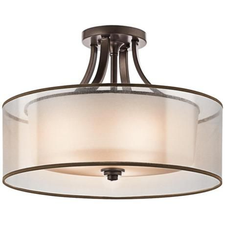370 possible bedroom flush mount kichler lacey 20 wide bronze ceiling light fixture