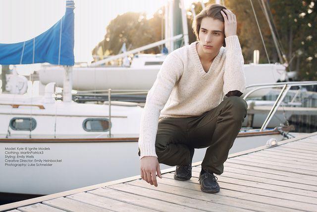 Trax Fashion Magazine Nautical Editorial by LukeCS, via Flickr