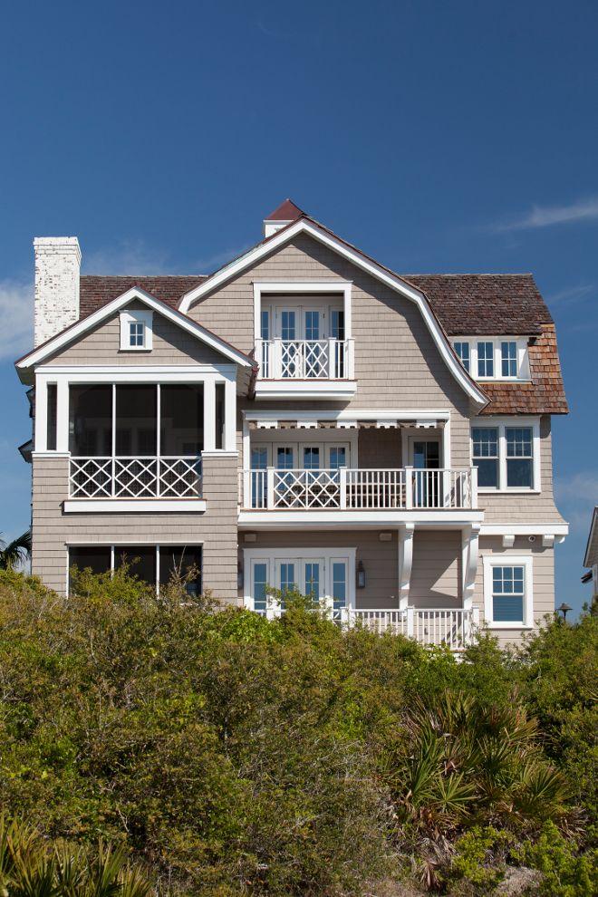 Shingle Style Beach House with Classic Coastal