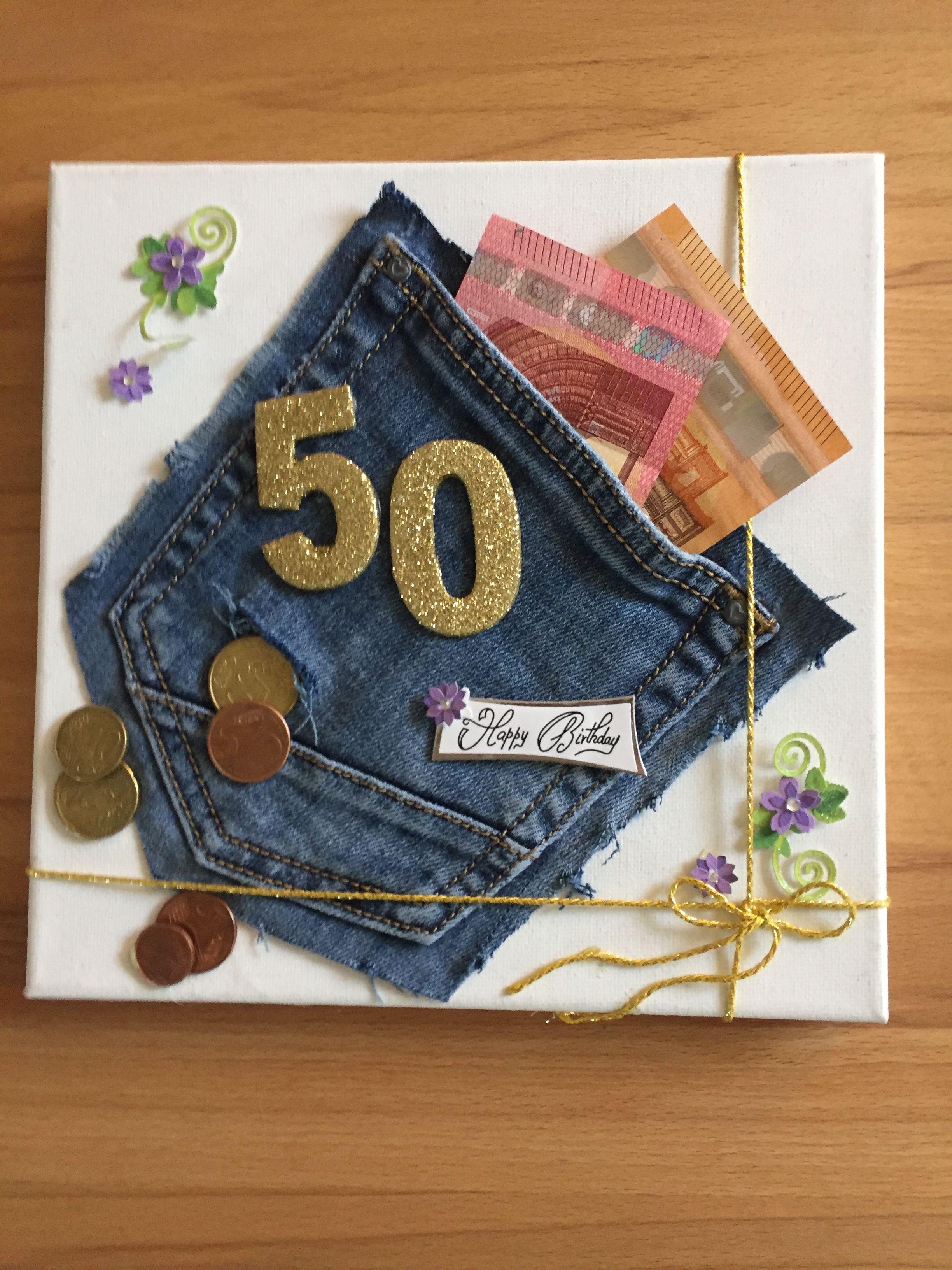Leuke Manier Om Geld Te Geven Geschenke Geldgeschenk Zum 50 Geldgeschenkideen