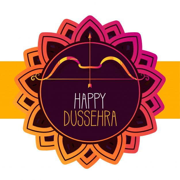 Download Happy Dussehra Festival Greeting Card for