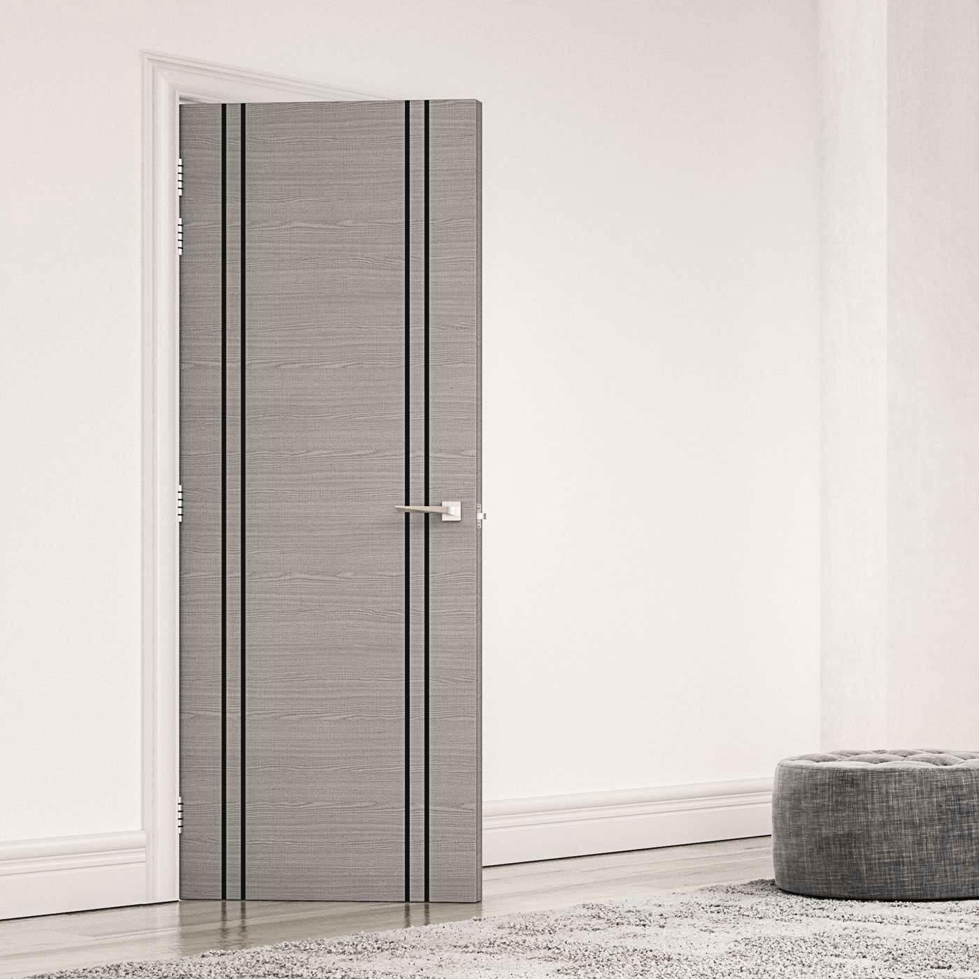 Bespoke Door Flush American Ash Veneer 60 Minute Fire Rated Prefinished Firedoor 1hourfiredoo Veneer Door Fire Doors