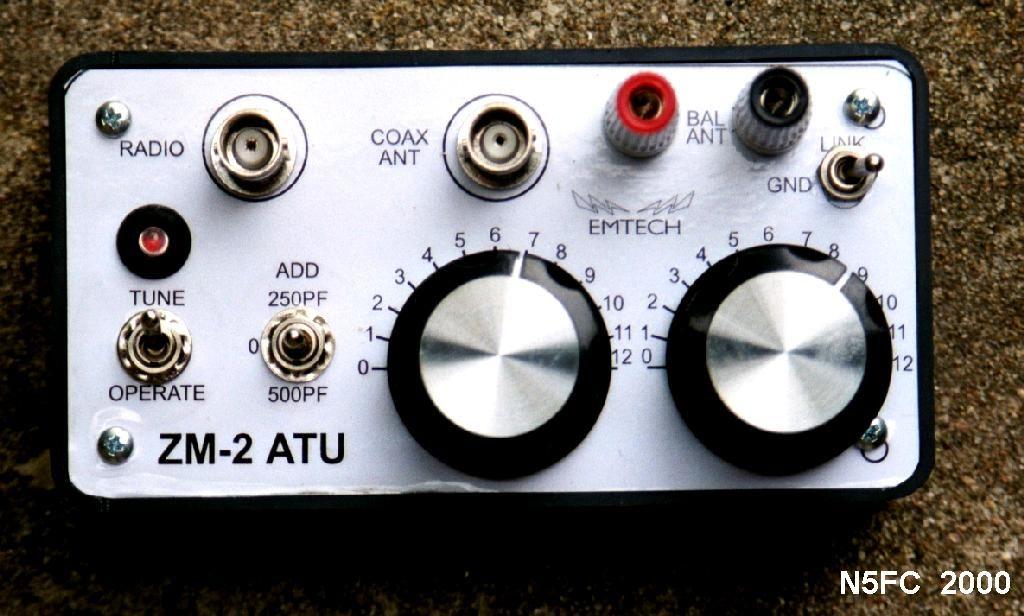 Emtech ZM 2 Antenna Tuner Kit N5ESE Version